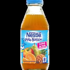 Cocktail de fruits sans sucre ajouté NESTLE, dès 8 mois, 50cl