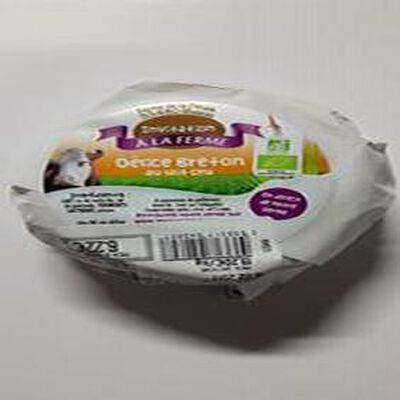 Délice Breton au lait cru bio La Ferme de la Pinais