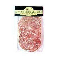 Museau de porc, SAVEURS DES MAUGES, barquette 5 pièces, 180g