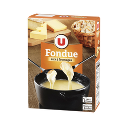 Fondue aux 3 fromages 15%mg U 450g