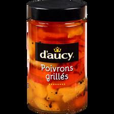 Poivrons grillées à l'huile, D'AUCY, 314ml soit 199g