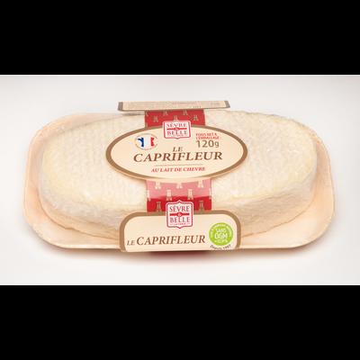 Nature au lait pasteurisé chèvre 25% de matière grasse CAPRIFLEUR, 120g