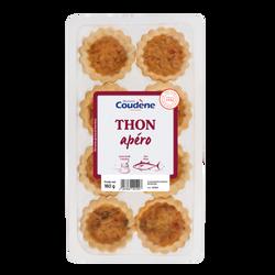 Tarte thon tomates apéro COUDENE 8x20g 160g