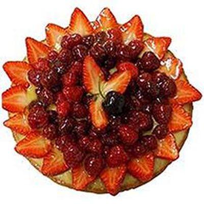 Tarte fraise framboise, 6 parts, 750g