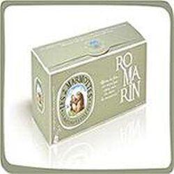 Infusion Romarin, LES 2 MARMOTTES, la boite de 30 sachets, 45g.