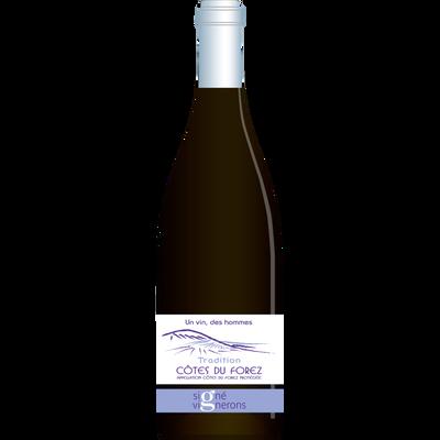 Vin rouge Côtes du Forez tradition un vin des hommes, 75cl
