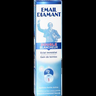 Dentifrice Double Blancheur EMAIL DIAMANT, tube de 75ml