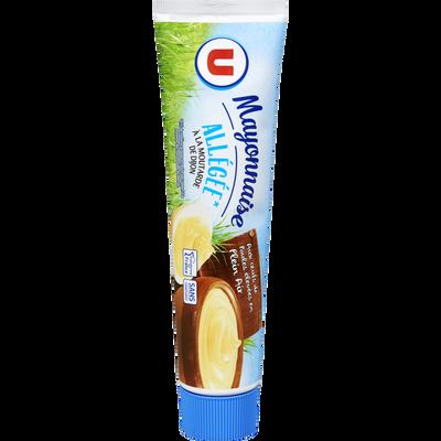 Mayonnaise allégée en matières grasses à la moutarde de Dijon U, bocalde 180g