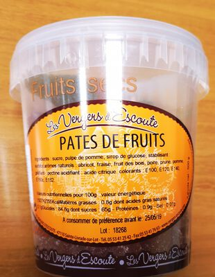 PATES DE FRUITS 500G