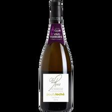 """CVT Pouilly-Loché AOP blanc domaine du Clos des Rocs """"Les Mûres"""",bouteille de 75cl"""