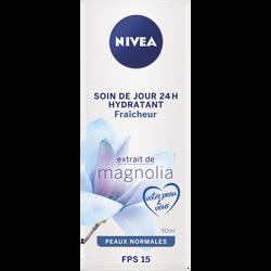 Soin de jour hydratant fraîcheur pour le visage SPF15 pour peaux normales NIVEA, tube de 50ml