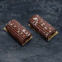 Buchette chocolat, 2 pièces, 140g