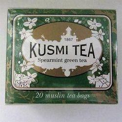 Thé Vert à la  Menthe - Etui de 20 sachets, KUSMI TEA 44g.