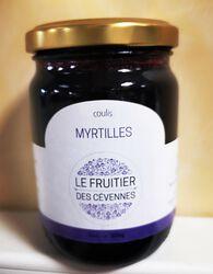 Coulis de myrtilles, Le fruitier des cévennes, 300g