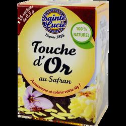 Touche d'Or au safran SAINTE LUCIE, 8g