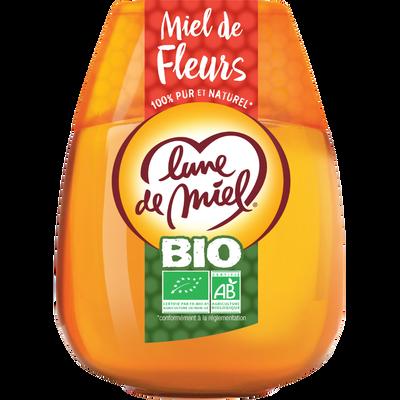 Miel de fleurs bio LUNE DE MIEL, 250g