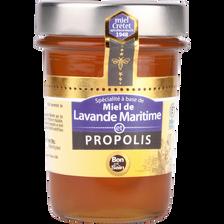 Miel de lavande maritime et propolis, MIEL CRETET, pot de 250g