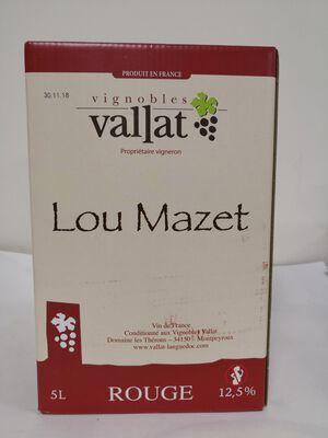 Vignobles Vallat - Lou Mazet - BIB 5L