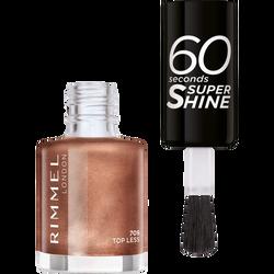 Vernis à ongles 60 seconds super shine colour block 709 top less RIMMEL,  8ml