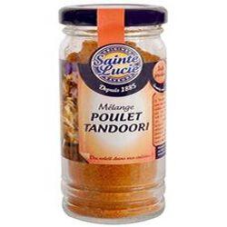 Mélange pour poulet tandoori, SAINTE LUCIE, flacon de 50g.