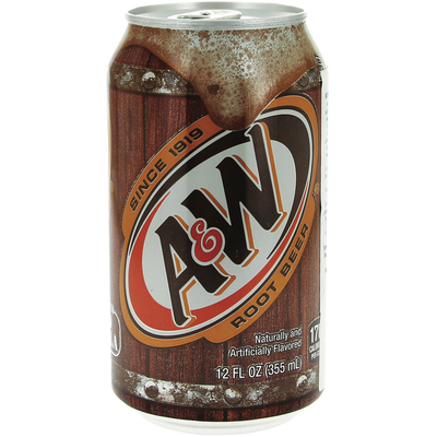 Soda Root Bière A&W, 355ml