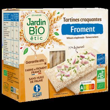 Jardin Bio Tartines Craquantes Froment Bio Jardin Bio 150g