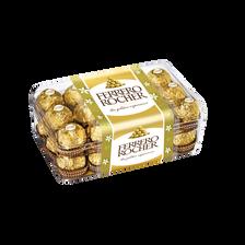 Chocolat FERRERO ROCHER, 30 unités boîte de 375g