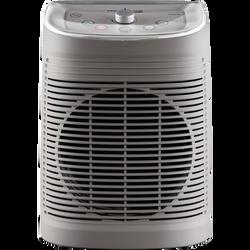 Chauffage soufflant salle de bain instant confort ROWENTA SO6510F2gris-1200/2400w-45db-2 vitesses-sécurité ip21-protectionsdb-thermostat mécanique-témoin lumineux