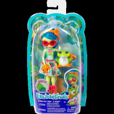 Tamika grenouille et Burst ENCHANTIMALS-Poupée et figurine animale