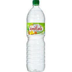 EAU SÉMILLANTE  aromatisée à l'ananas - bouteille de 1,5L