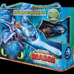 Figurine Dragons 3 - Krokmou cracheur de flammes