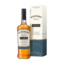 Single malt Scotch whisky BOWMORE LEGEND, 40°, boîte métal boutteillede 70cl