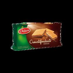 Gaufrettes croustifondantes au chocolat DELACRE, paquet de 150g