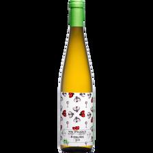 """Vin blanc AOP Alsace Riesling BIO """"Cave de Ribeauvillé"""", 75cl"""