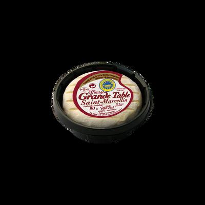 Saint-Marcellin IGP lait thermisé 22% de MG, en coupelle 80g