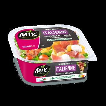 Mix Buffet Salade Italienne De Penne Au Jambon Cru, Tomates Et Mozzarella Mix Buffet, 250g