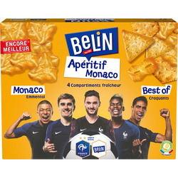 Assortiment de crackers Monaco BELIN, 340g