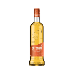 Vodka Ginger ERISTOFF, 18°, bouteille de 70cl