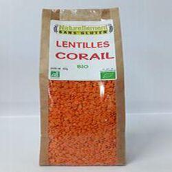Lentilles corail Bio NATURELLEMENT SANS GLUTEN 400g