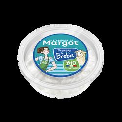 From.frais lait de brebis pasteurisé Bio MARGOT 15% 125g
