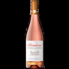 Vin rosé AOC Costières de Nîmes Montalcour, 75cl