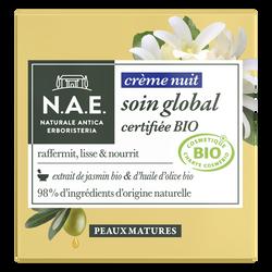 Crème de nuit peaux mature bio N.A.E tube 50ml
