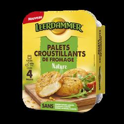 Palets croustillants de Fromage LEERDAMMER Nature 4 palets, 160g