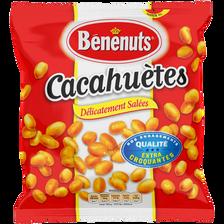 Cacahuètes grillées salées BENENUTS, sachet de 410g