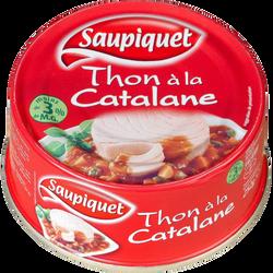 Thon à la Catalane SAUPIQUET, 252g