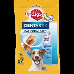 Friandise Dentastix pour chiots & petits chiens PEDIGREE, 7 tablettes,110g