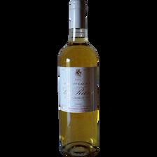 """Vin blanc moëlleux AOP Sainte-Croix du Mont CVT """"Les Côteaux de la Rame"""", 75cl"""