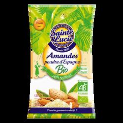 Amandes poudre Espagne Bio SAINTE LUCIE, 125g