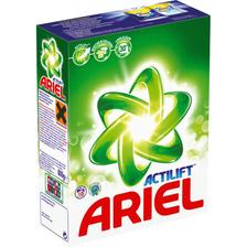 Lessive poudre régulier ARIEL, boîte 10 doses, 650g