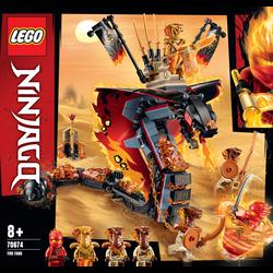 Croc'feu LEGO Ninjago